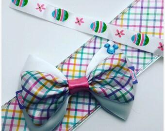 Easter inspired hair bow