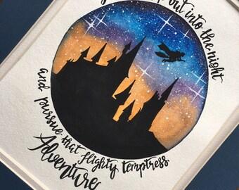 Harry Potter Nursery Decor. Harry Potter wall art.