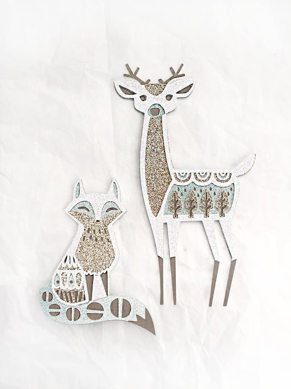 Winter Forest Animal Ornament