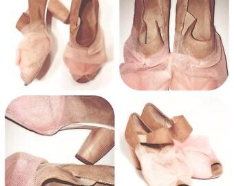 """Shoes pumps - """"Guitar & tango"""" - size 37 FR / 5.5 US"""