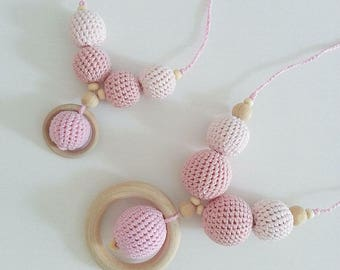 Mom & daughter necklaces-set necklaces breastfeeding mom and daughter