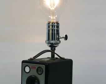 Kodak Brownie Box Camera Lamp