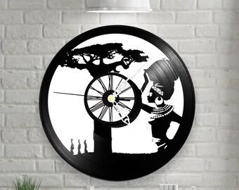 Vinyl clock Africa  Music