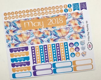 T93    May Butterfly Monthly Kit
