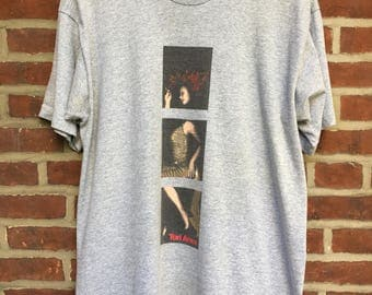Vintage Tori Amos tour t shirt 1998 plugged '98