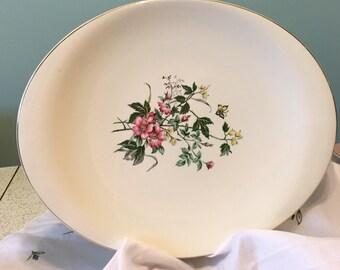 """Vintage 13"""" Oval Platter."""