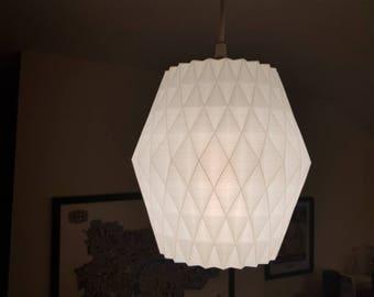 3D printed lampshade - unique design.
