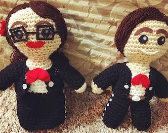 Mariachi Crochet Dolls