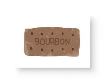 Bourbon Biscuit Print