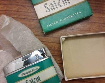 Vintage Salem Menthol Cigarette Lighter Penguin Lighter