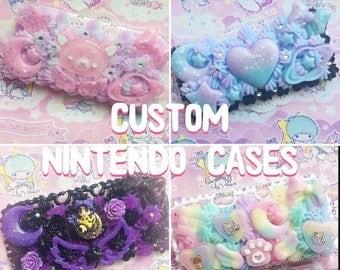 SALE Custom Nintendo Whipped Decoden Cases
