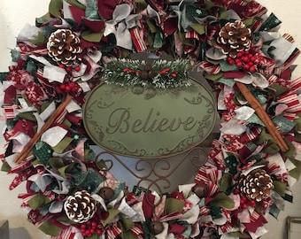 Believe Wreath, Winter Wreath