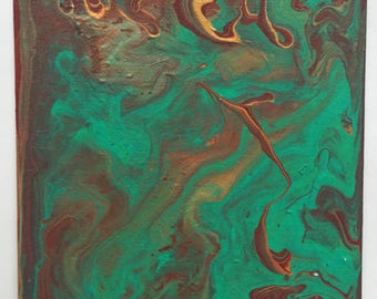 Acrylic Painting | Paint Pouring | Original Painting | Abstract | Canvas