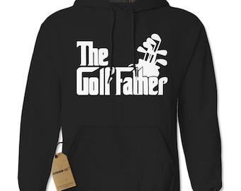 The Golf Father Golfing Dad Adult Hoodie Sweatshirt