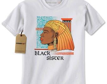 Black Sister Mens T-shirt