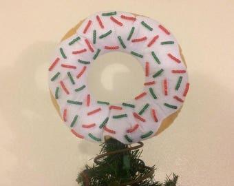 Donut Christmas Tree Topper