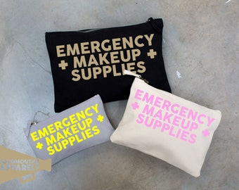 Emergency Makeup Supplies Make Up Bag Pouch Make Up Case