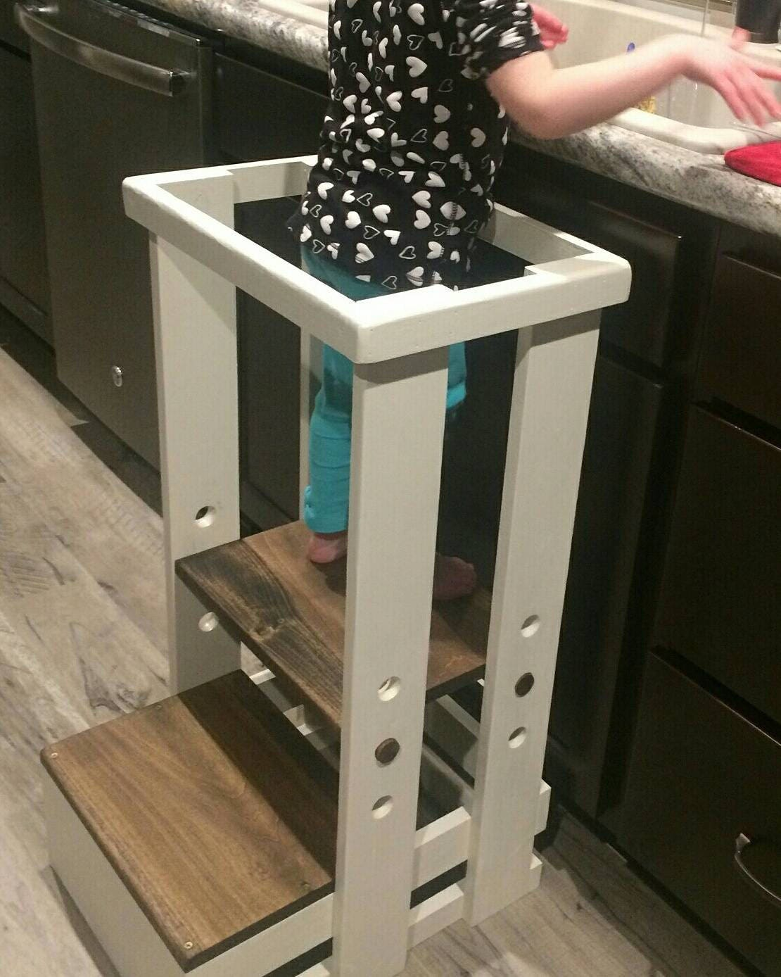 Safe Toddler stool Child Safety Kitchen Stool mommy's