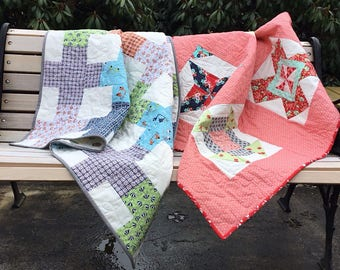 Boy and Girl Baby quilts