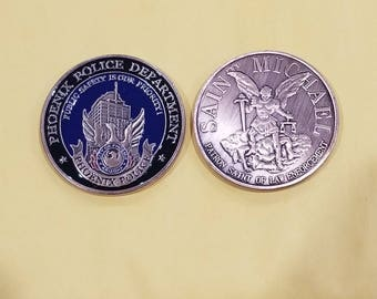 Phoenix Police Department Challenge Coin