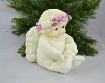 Vintage Dreamsicles Angel, Plush Angel With Hard Face With Original Tags