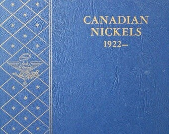Canada 5 Cents Nickel, 1922-1967, *No 1926 Far 6* ,Whitman Album