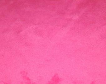 Coupon pink minkee Velvet