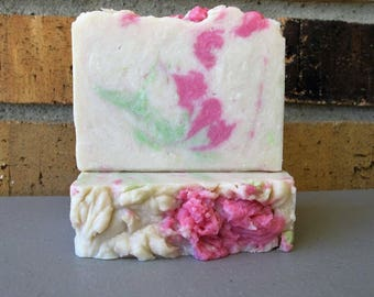 Honeysuckle Cream Soap Bar ~ with Rich Cream for soft skin! New luxurious Summer scent!