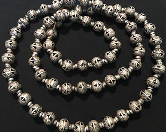 51 Vintage Beads,Vintage Spacers-Vintage finding- Kochi tribe, Handmade Vintage Jewelry Patrs-Jewellery Supplies-Vintage Beads Suppliers