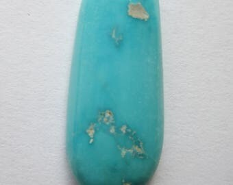 12.60 ct. 100% Natural Sleeping Beauty Turquoise Cabochon Gemstone, # EF 063
