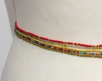 Waist beads, 5 X Waist beads , Jewelry making