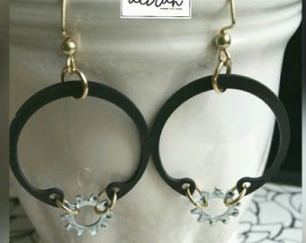 Rylynn Steampunk Earrings