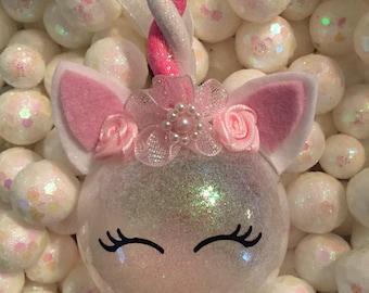 unicorn Christmas ornament, personalized unicorn ornament,unicorn, unicorn Christmas ball,unicorn Christmas decoration, unicorn ornament