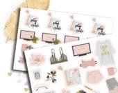 Me Time, Netflix sticker for kikki k, filofax, erin condren or Travellers Notebooks