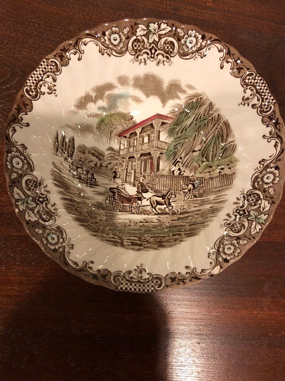 FREE SHIPPING-8 1/4 Inch-Heritage Hall-Open Vegatable Bowl