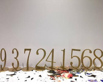 Table numbers wedding-acylic table number - wedding number -laser cut table number