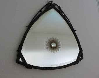 Wrought Iron Mirror Etsy