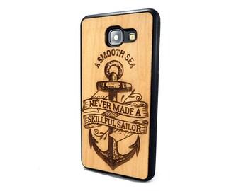 Natural Cherry Samsung Galaxy A3/A5 (2015/2016/2017) Motivation case | Galaxy A3/A5 wood case | Galaxy A3/A5 wood cover