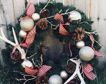 Hill Country Christmas Wreath