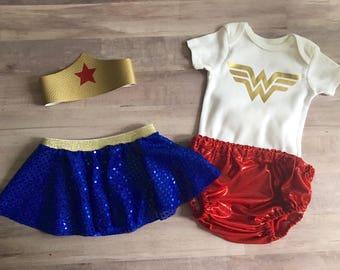 Wonder Woman Birthday Set
