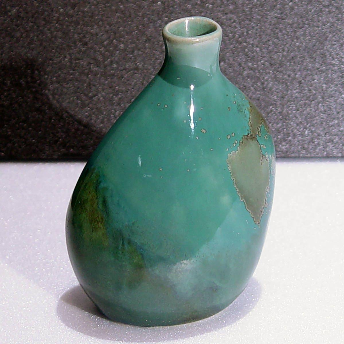 Vintage set of 3 petite porcelain 45 jade colored vases in vgc gallery photo gallery photo reviewsmspy