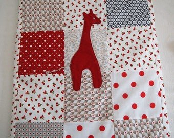 Small quilt for crib or small baby bed