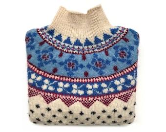 Vintage Hand Knit wool jumper