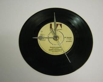 "Gerry Rafferty ""Baker Street"" Special Unique 7"" Vinyl Record Wall Clock Gift/Present"