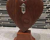 "Walnut Musical Heart playing ""You Are My Sunshine"""