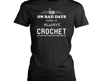 Crochet womens fit T-Shirt. Funny Crochet shirt.
