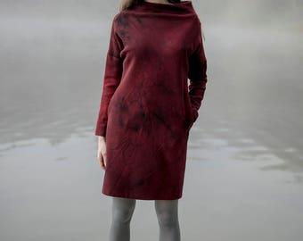 Woolen Dress Motumo 17FW6
