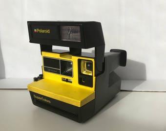 Polaroid SuperColor 600-Yellow