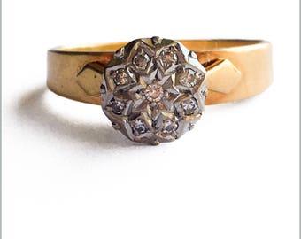 40's Diamond Engagement Ring