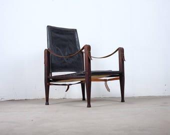 Kaare Klint, safari chair. Mid century